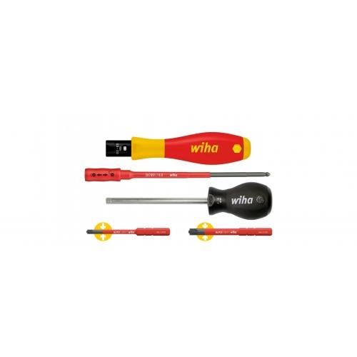 Wkrętak dynamometryczny zestaw TorqueVario®-S electric Wiha - 38074 Wkrętak dynamometryczny...