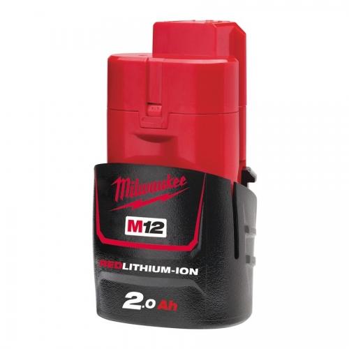 AKUMULATOR M12B2 2.0AH MILWAUKEE Akumulator M12 B2, 2.0 Ah...
