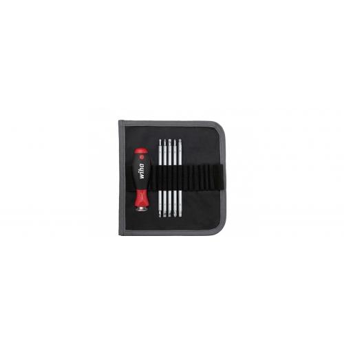 Wkrętak z trzonami wymiennymi zestaw SYSTEM 6 mieszany 6-cz. 281 T6 Zestaw bitów System 6 w...