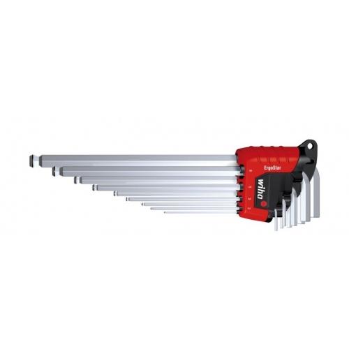 Zestaw kluczy trzpieniowych w uchwycie ErgoStar 369R H9 Zestaw kluczy trzpieniowych...