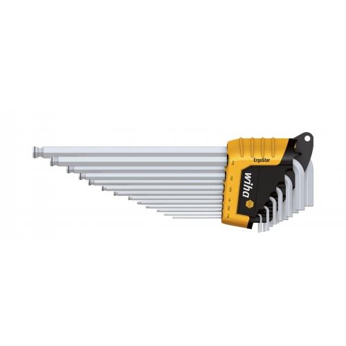 Zestaw kluczy trzpieniowych w uchwycie ErgoStar SB 369R HZ13 Zestaw kluczy trzpieniowych...