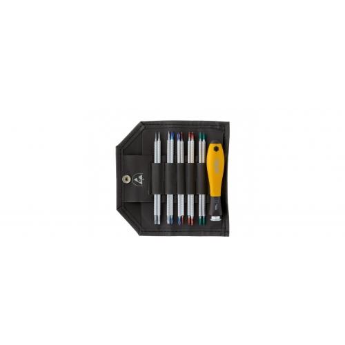 Wkrętak z trzonami wymiennymi zestaw SYSTEM 4 ESD Wiha - 31499 Wkrętak z trzonami...
