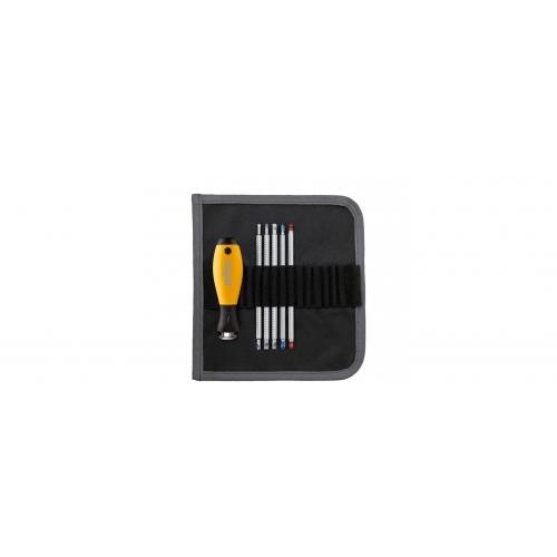 Wkrętak z trzonami wymiennymi zestaw SYSTEM 6 ESD Wiha - 31497 Wkrętak z trzonami...