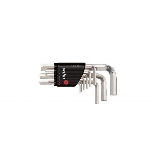 Zestaw kluczy trzpieniowych w uchwycie Compact SB 351 H9 Zestaw kluczy trzpieniowych...