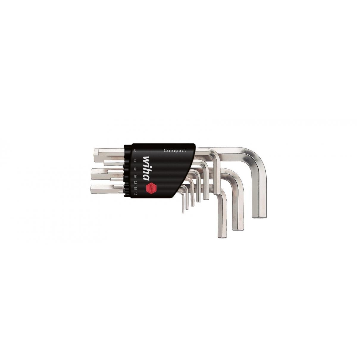 Zestaw kluczy trzpieniowych w uchwycie Compact Wiha - 03734 Zestaw kluczy trzpieniowych w uchwycie Compact Wiha - 03734