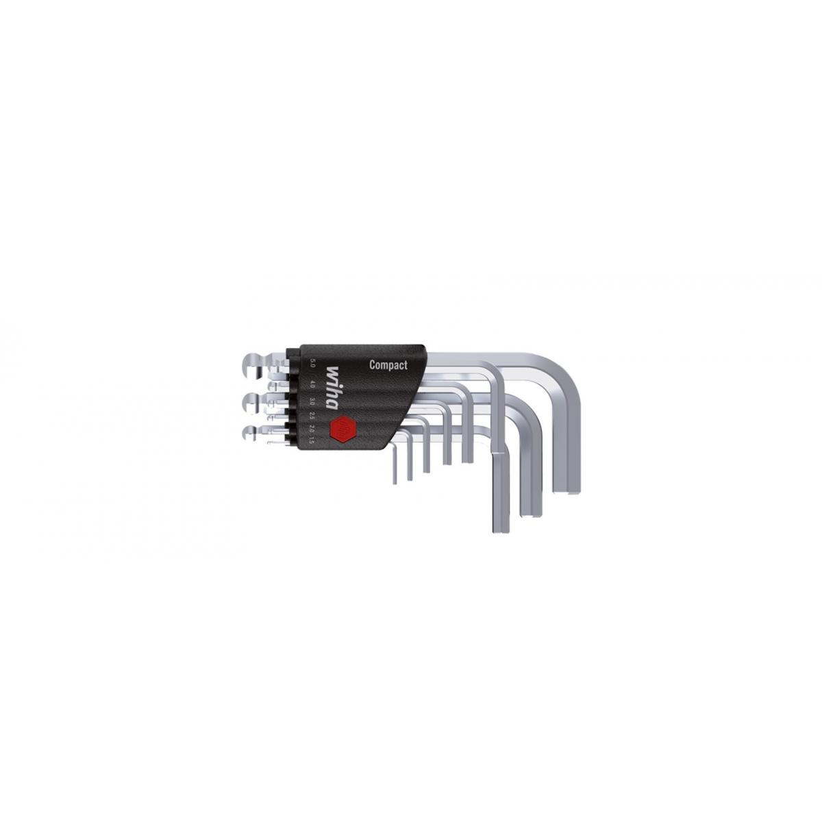 Zestaw kluczy trzpieniowych w uchwycie Compact Wiha - 40411 Zestaw kluczy trzpieniowych w uchwycie Compact Wiha - 40411