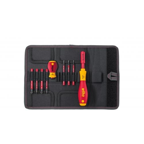 Wkrętak i zestaw bitów slimVario® Wiha - 41232 Wkrętak i zestaw bitów...