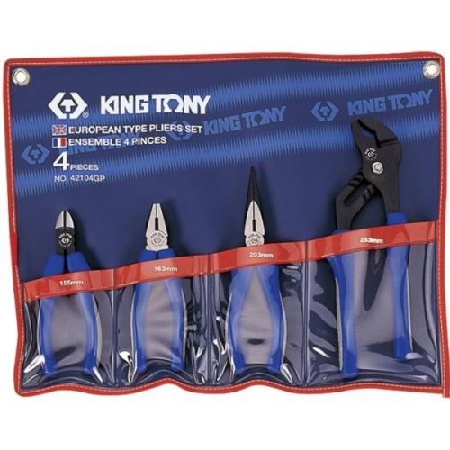 Zestaw szczypiec KING TONY - 42104GP Zestaw szczypiec KING TONY...