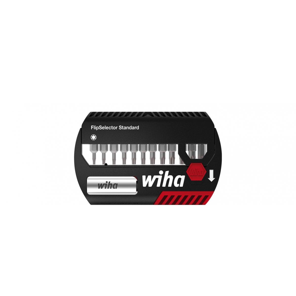 Zestaw bitów FlipSelector Standard 25 mm Wiha - 39124 Zestaw bitów FlipSelector Standard 25 mm Wiha - 39124