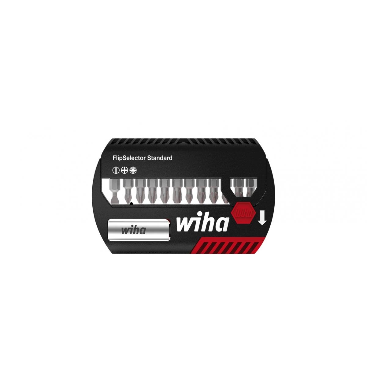 Zestaw bitów FlipSelector Standard 25 mm Wiha - 39049 Zestaw bitów FlipSelector Standard 25 mm Wiha - 39049
