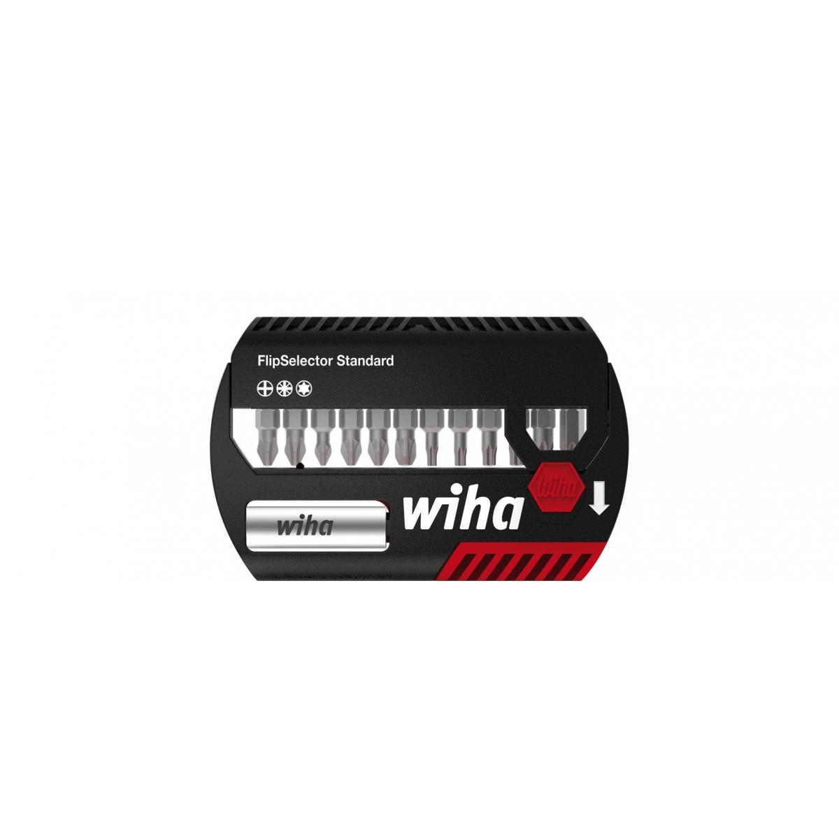 Zestaw bitów FlipSelector Standard 25 mm Wiha - 39060 Zestaw bitów FlipSelector Standard 25 mm Wiha - 39060