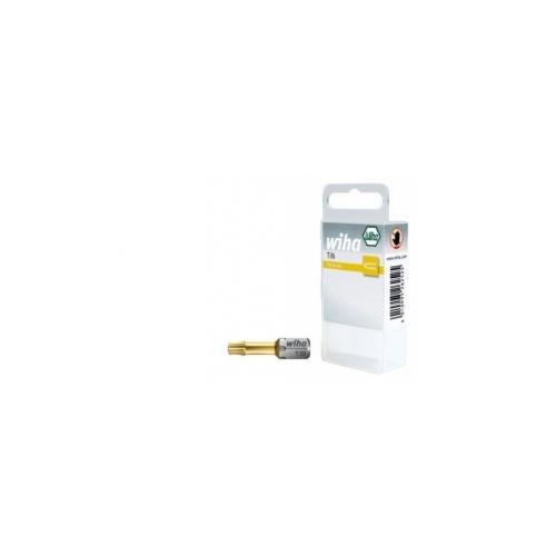 """Bit zestaw TiN 25 mm ze strefą skrętną TORX® (T15) 2-cz. 1/4"""" w kasecie7015 TiN  Bit zestaw TiN 25 mm ze..."""