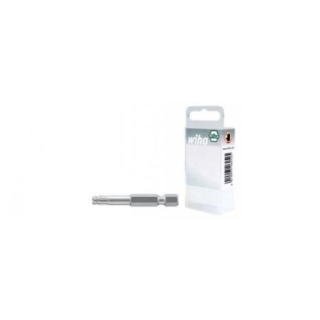 """Bit Professional 50 mm, główka kulista TORX® (T20) 1/4"""" Wiha - 32808 Bit Professional 50 mm, główka kulista TORX® (T20) 1/4"""" Wiha - 32808"""