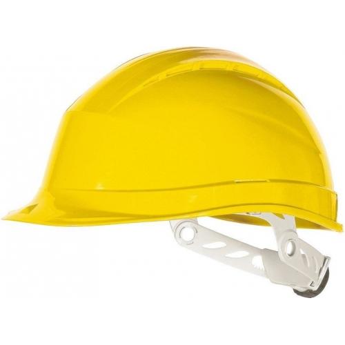 Kask ochronny żółty QUARUP3JA - DELTA PLUS Kask ochronny żółty...