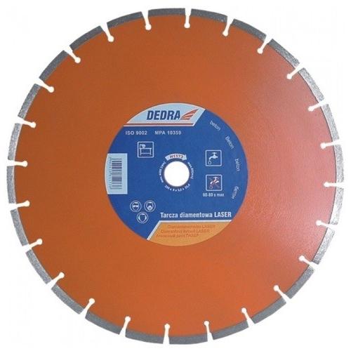 Tarcza diamentowa 300x25.4 Laser beton Dedra Tarcza diamentowa 300x25.4...