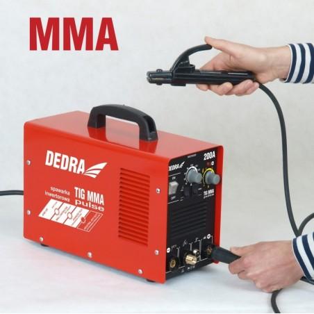 Spawarka 200 A MMA/TIG DEDRA - DESTi203P Spawarka 200 A MMA/TIG DEDRA - DESTi203P