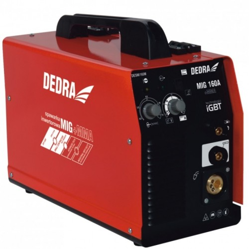 Spawarka 160A MIG/MAG IGBT DEDRA - DESMi160M Spawarka 160 A MIG/MAG IGBT...