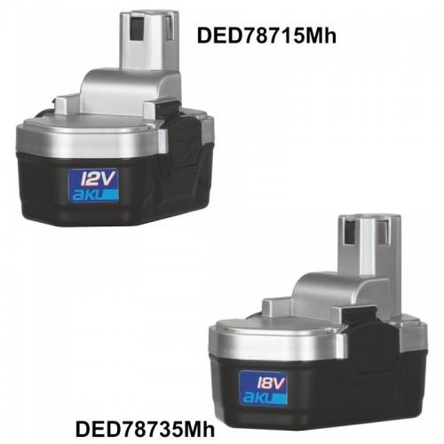 Akumulator 1,2 Ah DEDRA - DED78735MH Akumulator 1,2 Ah DEDRA -...
