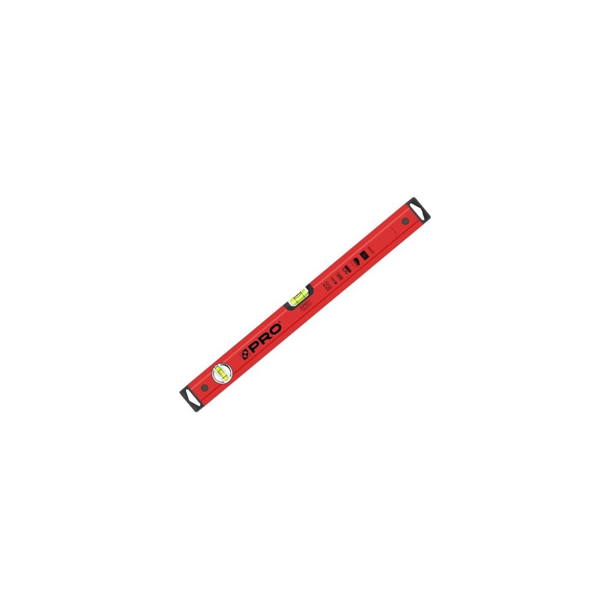Poziomica PRO 100 cm, czerwona