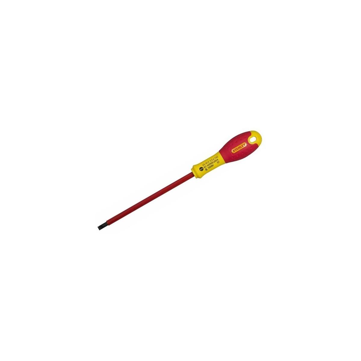 WKRĘTAK FATMAX VDE PŁ 3.5*75MM Wkrętak płaski Fatmax 3,5 x 75 mm STANLEY - 654110