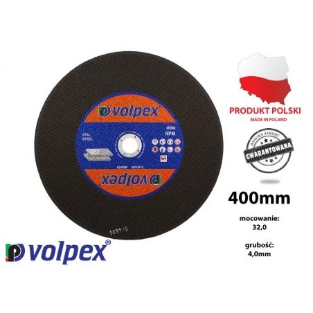 Tarcza do cięcia metalu 400 mm - VOLPEX Tarcza do cięcia metalu 400 mm - VOLPEX