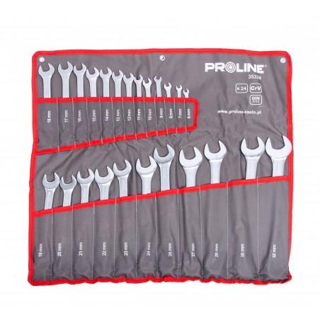 Zestaw skrzynka narzędziowa + komplet kluczy - PROLINE