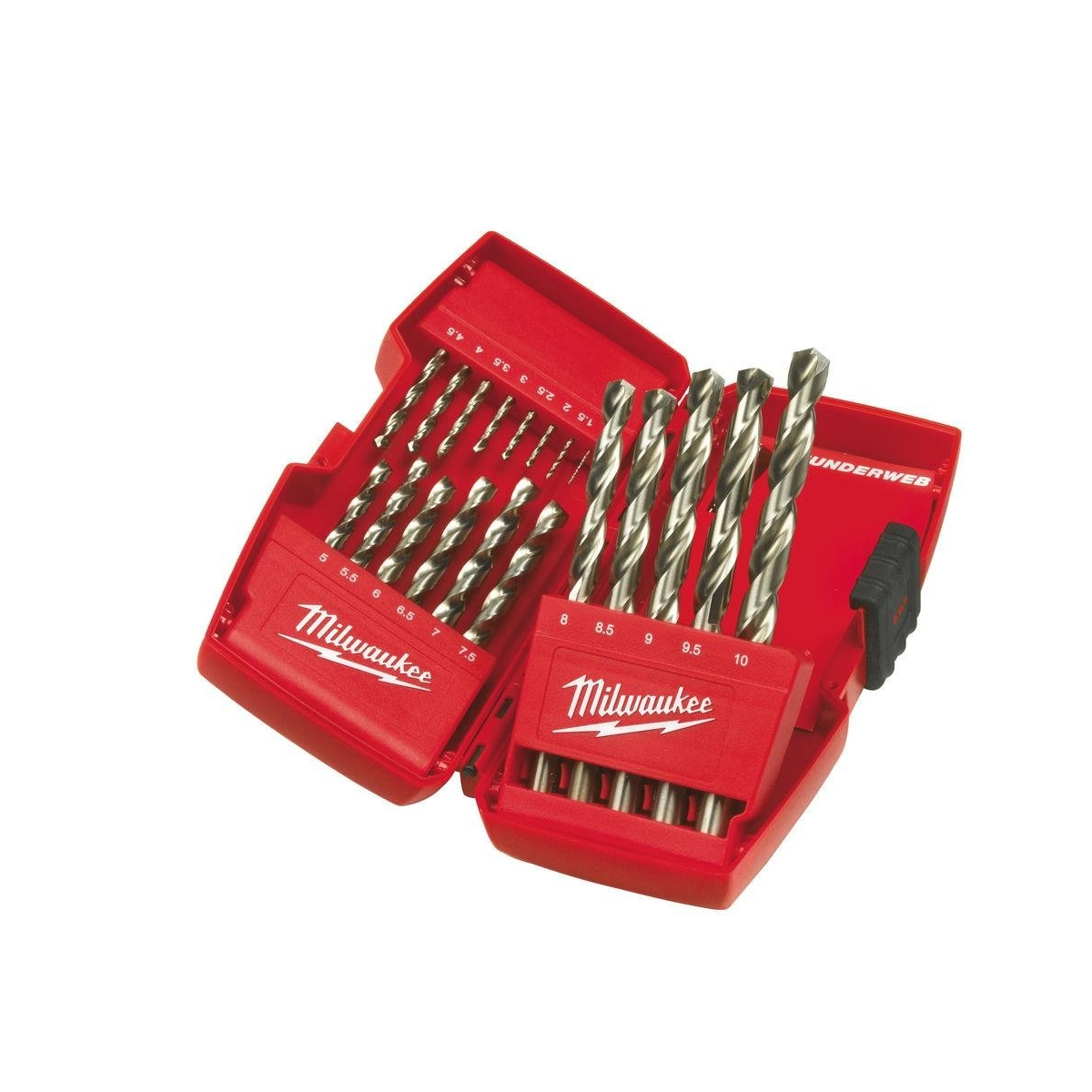 WIERTŁA NWKA 1.0-10.0MM 19SZT MILWAUKEE WIERTŁA NWKA 1.0-10.0MM 19SZT MILWAUKEE