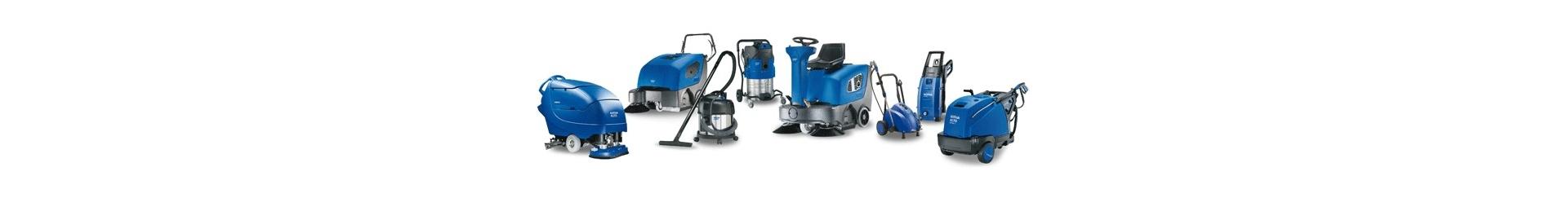 Maszyny czyszczące – odkurzacze przemysłowe, myjki, akcesoria
